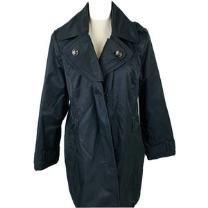 London Fog Women's Black Coat PXL